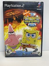 The SpongeBob Squarepants Movie PlayStation 2 Video Game. Complete With Manual.
