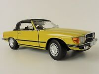Mercedes 350sl Convertible 1977 1/18 Sun Star 4568 Sunstar R 107 350