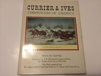 Currier and Ives Chronicles of America Coffee Table Hardcover Book