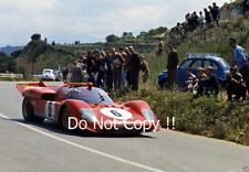 Nino Vaccarella Ferrari 512S Targa Florio 1970 Photograph 2