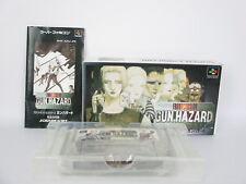 FRONT MISSION GUN HAZARD Ref/ccc Super Famicom Nintendo Japan Game sf