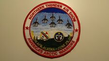 Northern Thunder Air Show, Eielson AFB, Alaska patch