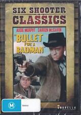 BULLET FOR A BADMAN - AUDIE MURPHY -  NEW & SEALED R4 DVD FREE LOCAL POST