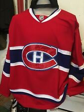 Authentic Montreal Canadien NHL LNH Hockey Jersey Size 52