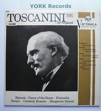 VIC 1010 - TOSCANINI BY REQUEST - Arturo Toscanini NBC Symphony O - Ex LP Record