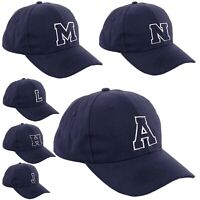 Nave Baseball Cap Kids Adult Size Boy Girl School Hat Casual Men Women Caps A-Z
