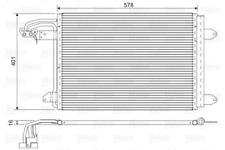 Kondensator, Klimaanlage für Klimaanlage VALEO 817777