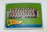 1965 Topps # 316 Cincinnati Reds Team Baseball Card