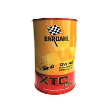 5 LITRI OLIO MOTORE BARDAHL XTC C60 0W-40 TAGLIANDO AUTO