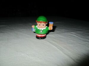 Fisher Price Little People Elf with Blue Paint