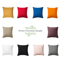 Large Cushion Covers 20 Inch 50x50 Cm High Quality 100% Cotton Machine Washable