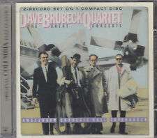 THE DAVE BRUBECK QUARTET - the great concerts CD