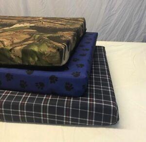 Dog Bed Chew Resistant Waterproof Heavy Duty Kennel Run Tough Robust Memory foam