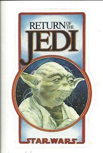 Vintage Star Wars Fanclub Sticker Return of the Jedi  Bantha Tracks Lucasfilm BV