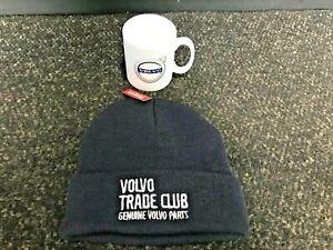 VOLVO TRADE CLUB CERAMIC MUG & BEANIE WOOLY HAT / GIFT