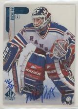 1998-99 SP Authentic Buyback /48 Mike Richter #55 Auto
