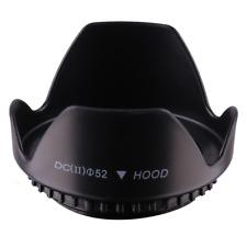 52mm Tulip Flower Lens Hood for Nikon Nikkor 55-200mm f/4-5.6G ED VR II 52mm
