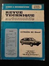 Revue Technique Automobile BX Diesel