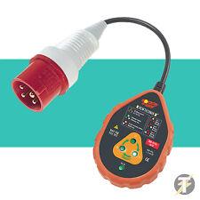 Socket & See sok60/16 HD 400v INDUSTRIAL Tester de enchufes