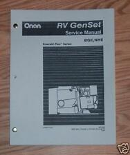ONAN SERVICE MANUAL 965-0528 BGE, NHE EARLY GENSETS