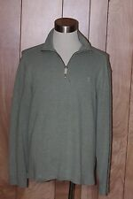 MEN'S POLO RALPH LAUREN 1/2 ZIP SWEATER-SIZE: LARGE
