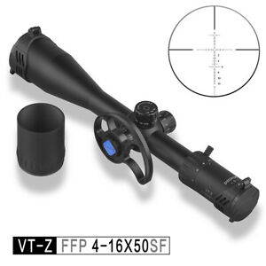 DISCOVERY VT-Z 4-16X50SF FFP Shock Proof Hunting Rifle Scope Optics Sight