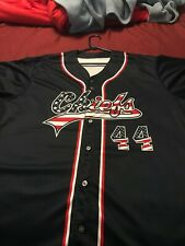 Peoria Chiefs July 4th Night Promo Jersey Game Worn Auto XXL 2XL