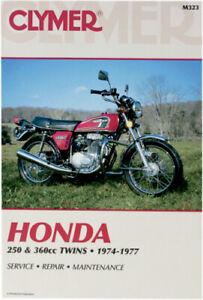 Clymer Repair Manual Honda CB250GS CJ250T CB360 CB360G CL360 CJ360T 1974-77 M323