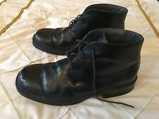 SLATTERS BLACK LEATHER SHOES SIZE 10 MADE IN AUSTRALIA