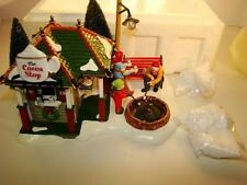 THE ORIGINAL SNOW VILLAGE THE COCOA STOP LIMITED EDITION OF 5600