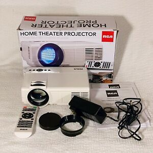 RCA - RPJ116 WVGA Home Video Projector - White