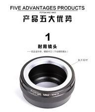FOTGA M42-M4/3 Lens Adapter For M42 Lens to Olympus panasonic micro Camera Body