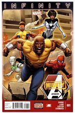 MIGHTY AVENGERS Vol.2 #1(11/13)1:MONICA RAMBEAU AS SPECTRUM(CGC WORTHY)9.8/RARE!