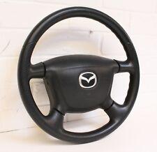 Mazda MX5 - Mk2 (NB) 98-05 - 4 SPOKE STEERING WHEEL W/ MAZDA AIRBAG - Vinyl