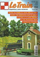 LE TRAIN N°154 AUQLYS / CC 6551 ET MODELE MINITRIX / TEE MARCHANDISES ROCO