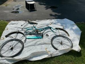 RARE BLUE GRASS Belnap Sting-Ray, Banana Seat Bike, Reduced