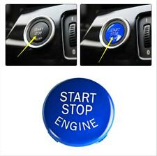 Blue Engine Start Stop Push Button Replace Cover For BMW E90 E60 E61 3/5Series