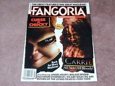 FANGORIA # 327 Curse of Chucky, Carrie, Angel Heart, Tony Todd FREE SHIPPING USA