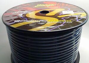 Stinger 25 feet 9 conductor speedwire 18 gauge awg speaker wire Remote SGW9925