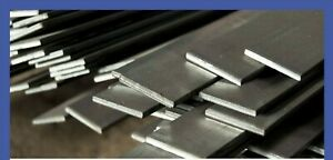 Mild Steel 40MM x 8MM Flat Bar Width Thickness Lengths Metal up to 150cm Long