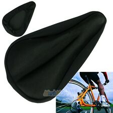 New Bicycle Cycle Extra Comfort Gel Pad Cushion Cover for Saddle Seat Comfy #01