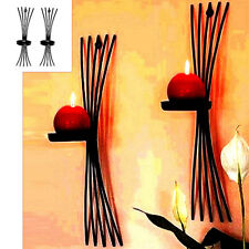 Modern Style Wall Hanging Candlestick Iron Candle Holder Sconce Home Decor