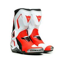 Dainese Torque 3 Out Lady Boots Gr. 38 EU Motorradstiefel Damen Stiefel weiß rot