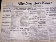 1932 MARCH 30 NEW YORK TIMES - FLYNN FACES JAIL TODAY - NT 4098