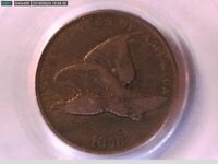 1858 Flying Eagle Cent PCGS F 15 Small Letters 19028812 Video