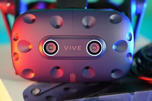 HTC Vive Pro Eye VR Headset Only - Blue, Barely Used, Excellent, Free Shipping!