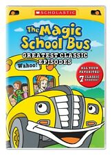 THE MAGIC SCHOOL BUS GREATEST CLASSIC EPISODES New Sealed DVD 7 Episodes