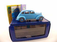 En Voiture Tintin taxi ford V8 1937 les sept boules de cristal 1/43 neuf Mint