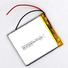 3.7V 2600mAh 606168 Li-ion Li-Polymer Rechargeable Battery LiPo Cell for GPS MP3