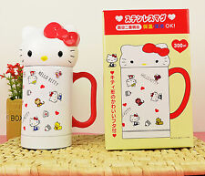 Super Cute for Hello Kitty Stainless Steel Vacuum Warm Travel Mug Tea Cup 300ml